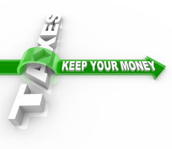save money on taxes